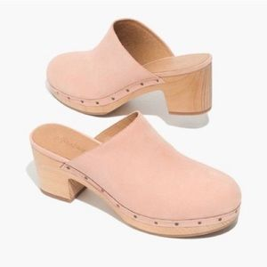 Madewell The Ayanna Clogs In Antique Coral